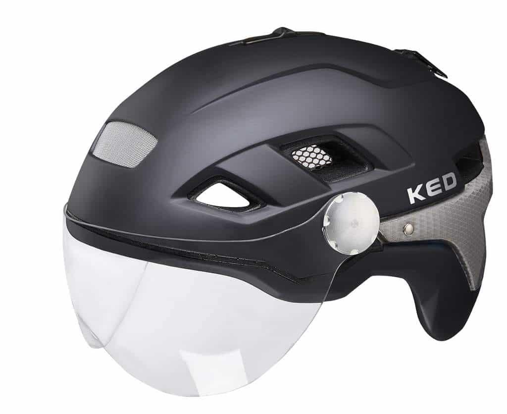 KED Fahrradhelm B-VIS X-lite in der Seitenansicht