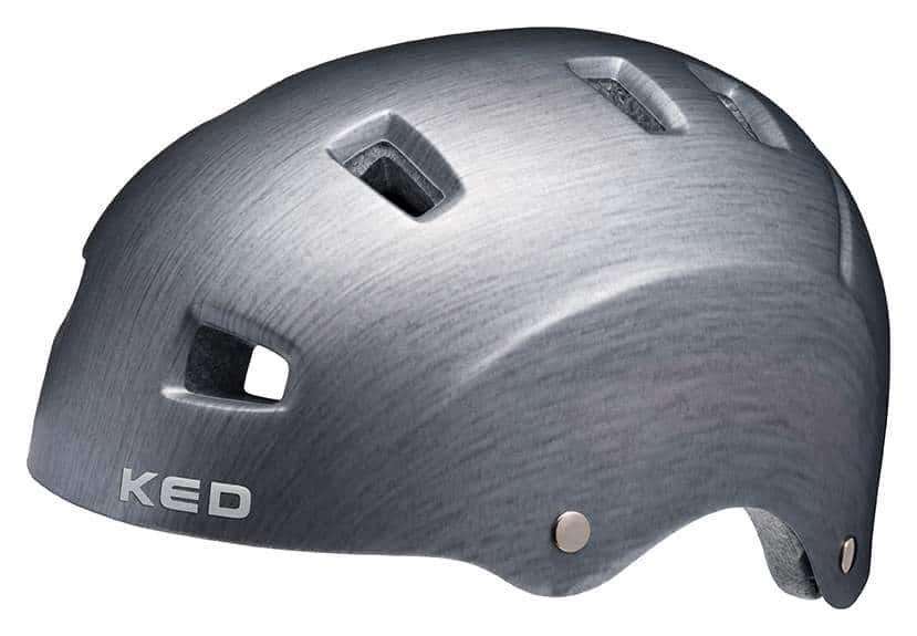 KED Fahrradhelm RISCO in der Seitenansicht