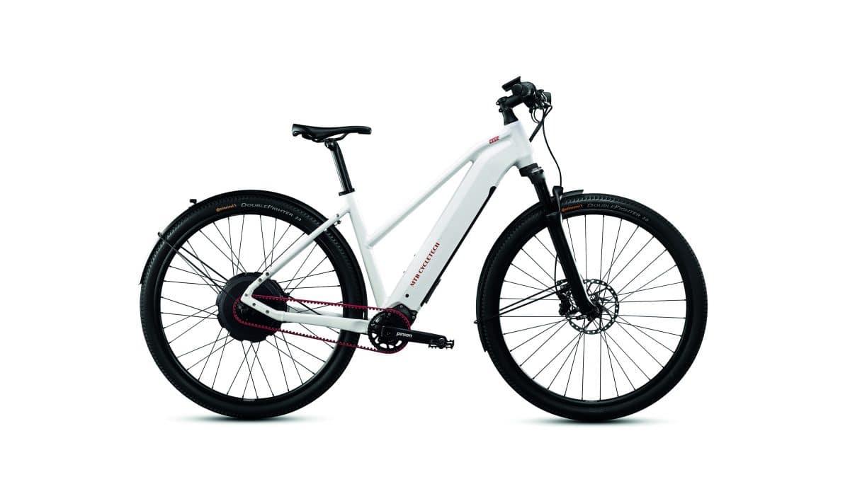MTB Cycletech Code Lady in der Seitenansicht