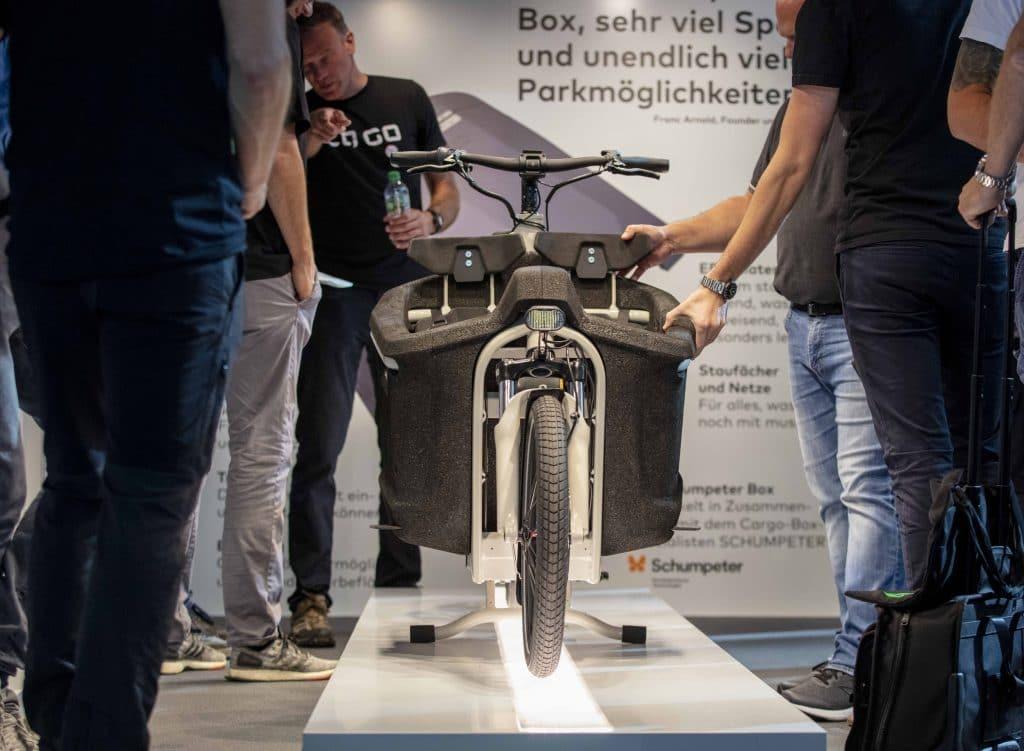 Vorstellung von ca go auf der Eurobike 2019