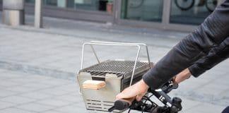 Knister Grill: Der Grill fürs Fahrrad