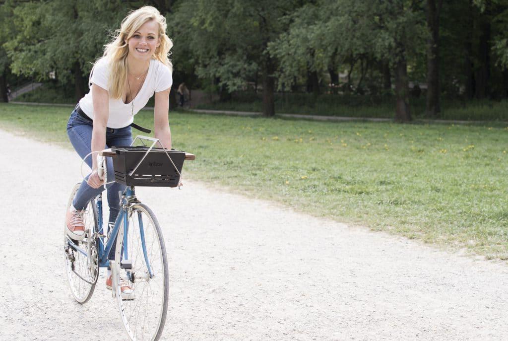 Knister Grill fürs Fahrrad