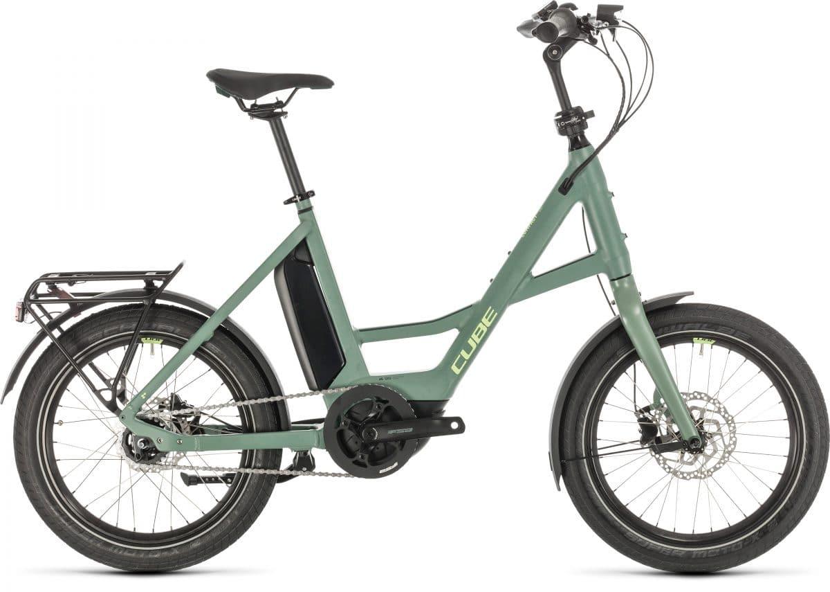 """Cube eBikes 2020: 20"""" COMPACT Sport Hybrid in der Seitenansicht"""