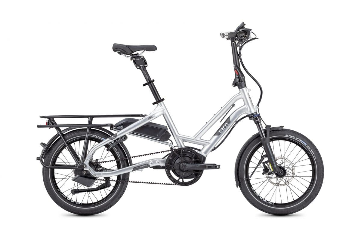 TERN Kompakt-Cargobike HSD S+ in der Seitenansicht