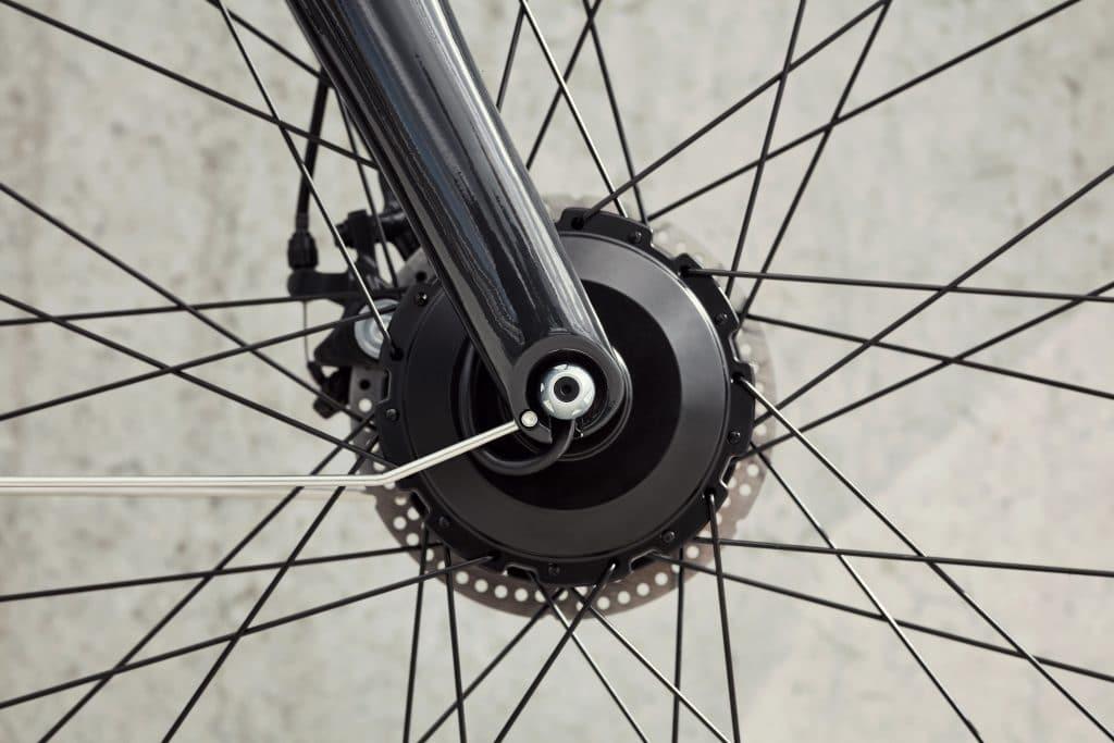 Vorderradantrieb der VanMoof E-Bikes - eBikeNews