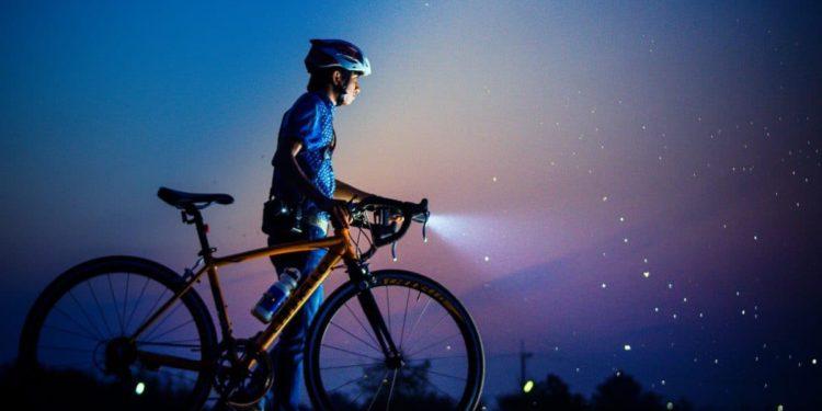 Fahrradbeleuchtung im Winter