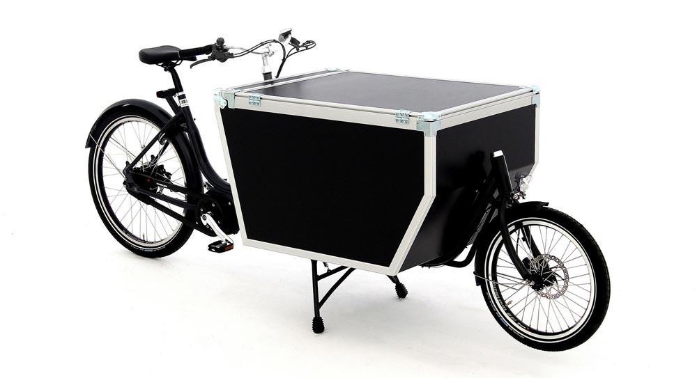 Das Babboe Pro Bike mit zwei Rädern - eBikeNews