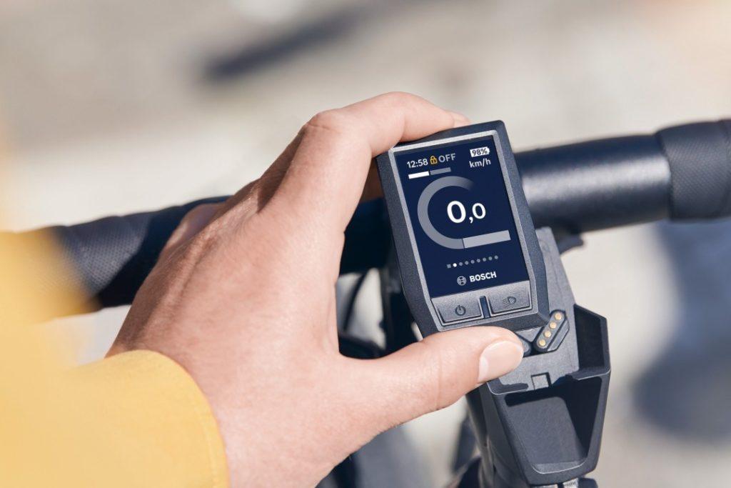 Bosch Kiox ist die kleine Übersichtliche Lösung des E-Bike Cockpits