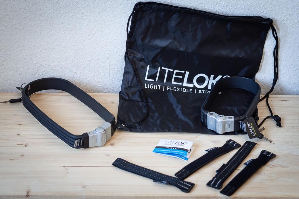 LiteLok Flexi-U Silver unboxed - eBikeNews