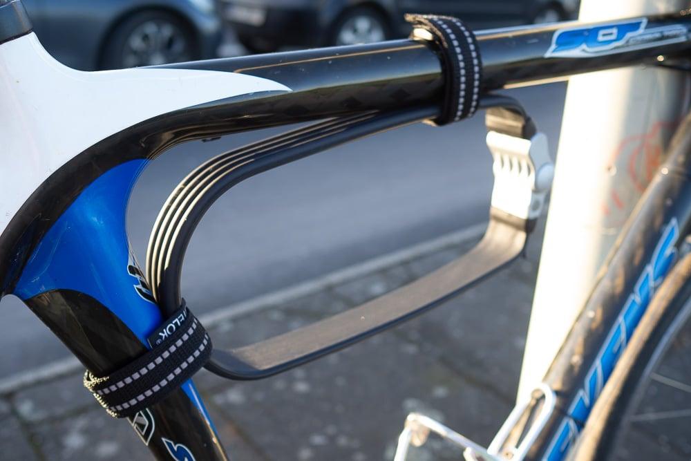 Befestigung LiteLok am Fahrrad - eBikeNews