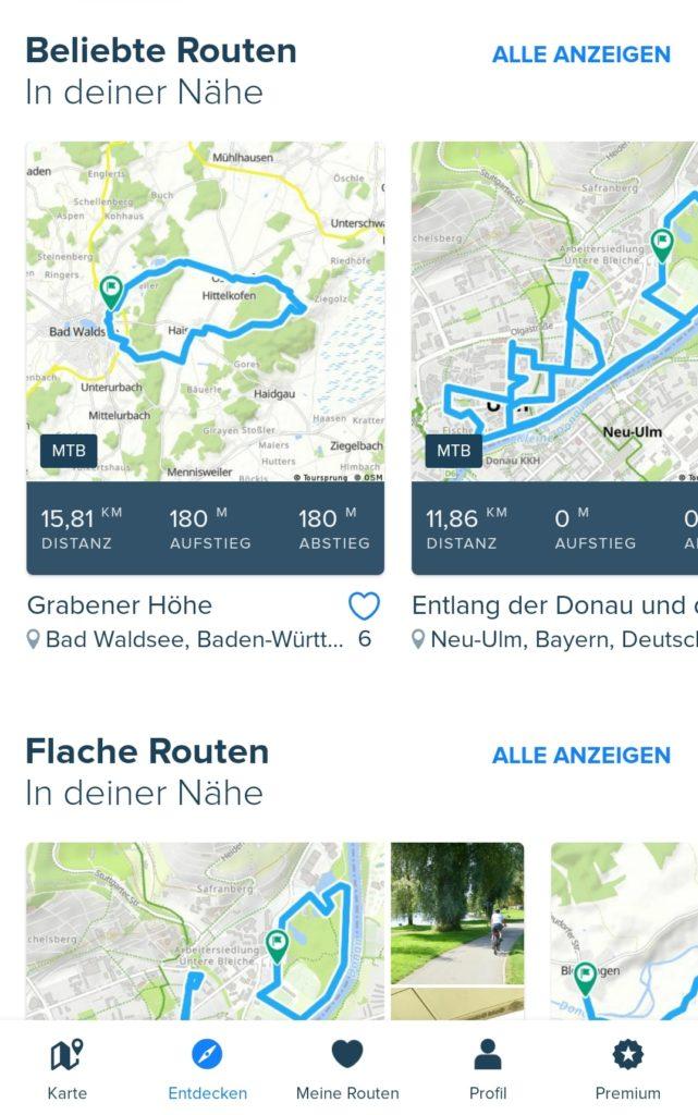 Bikemap App im Praxistest - Fahrrad Navigation mit Routen Explorer für E-Biker