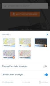 Bikemap App Test - Fahrrad Navigation für Radfahrer und E-Biker
