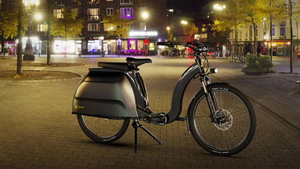 Civilized Cycles Model 1: dieses praktische E-Bike erinnert an eine Vespa - eBikeNews