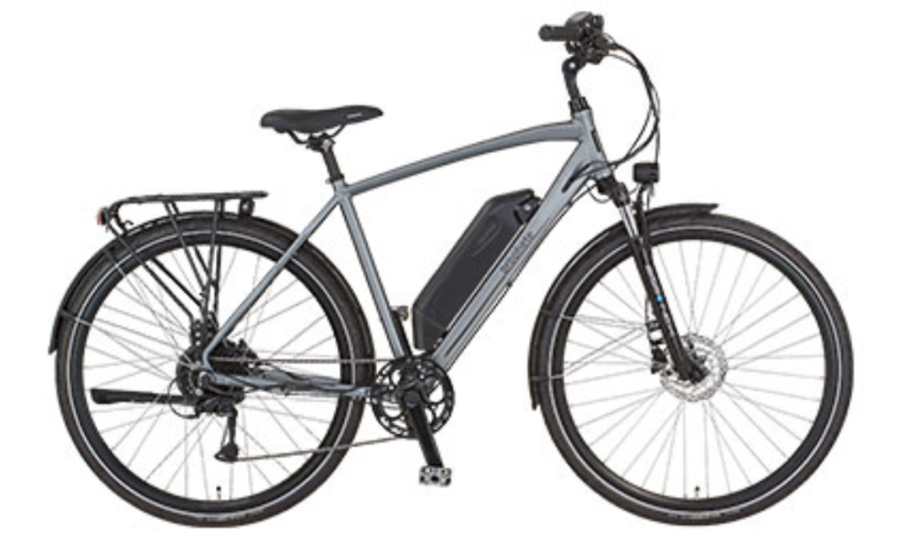 Trekking E-Bike von Prophete bei Aldi Süd - eBikeNews