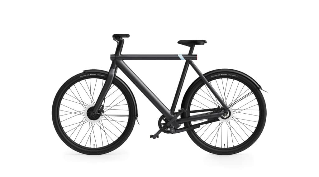 VanMoof S3 in dark - eBikeNews