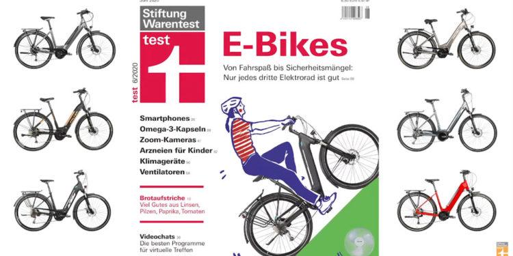 """E-Bike-Test von Stiftung Warentest: Nur ein Drittel ist """"Gut"""" - eBikeNews"""