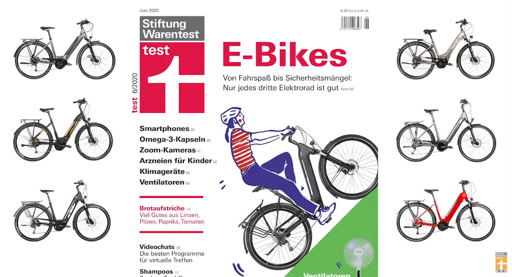 Test Fahrradschlösser Stiftung Warentest