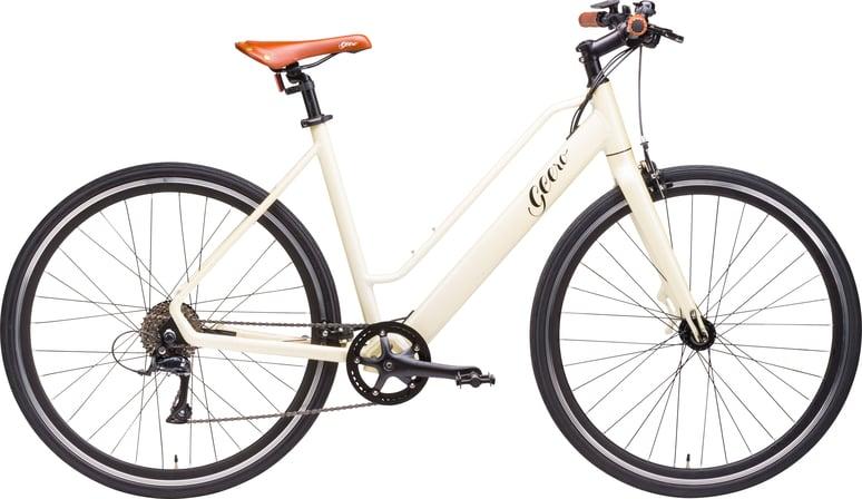 "GEERO 1 E-Bike Original-Comfort ""Cream"""