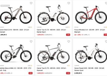 Die besten Onlineshops für E-Bikes - eBikeNews