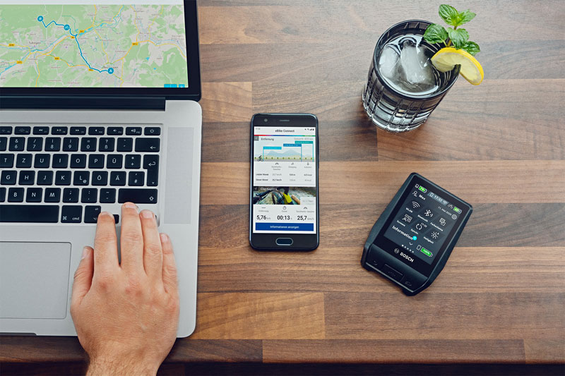 Bosch Nyon Borcomputer App - eBikeNews