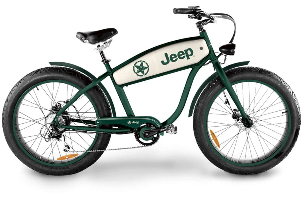Jeep Cruise E-Bike CR 7004 - eBike-News