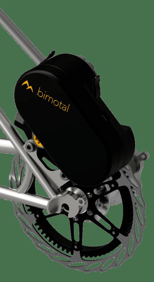 E-Antrieb für Mountainbikes von Bimotal