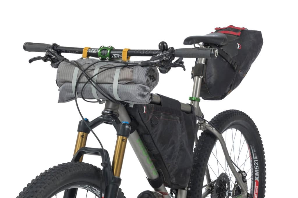 Befestigung Bikepacking Zelt - eBikeNews