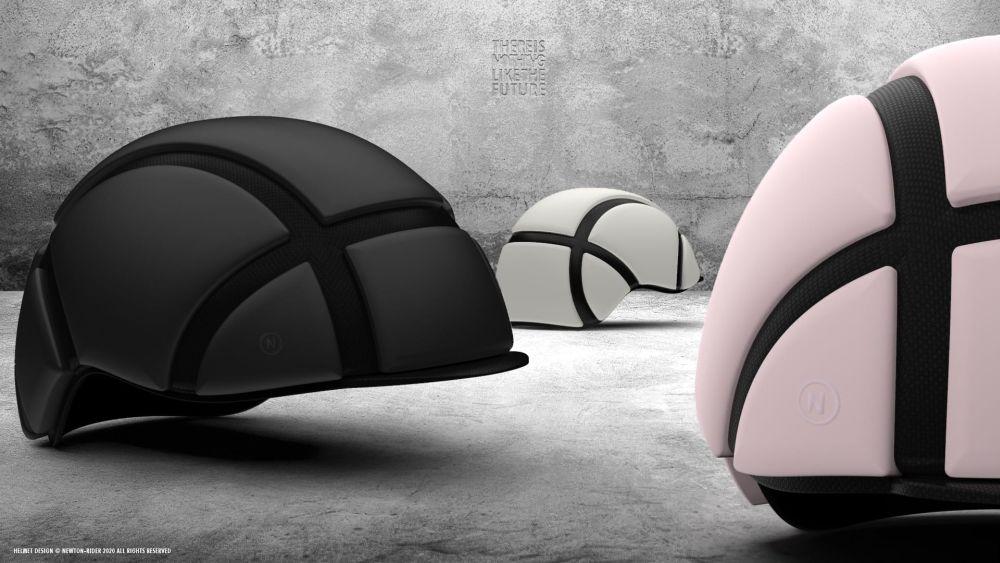 Dünnster Helm der Welt Newton-Rider
