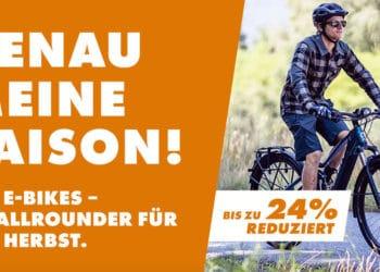 Fahrrad XXL: Viele E-Bikes mit bis zu 32 Prozent Rabatt erhältlich - eBikeNews