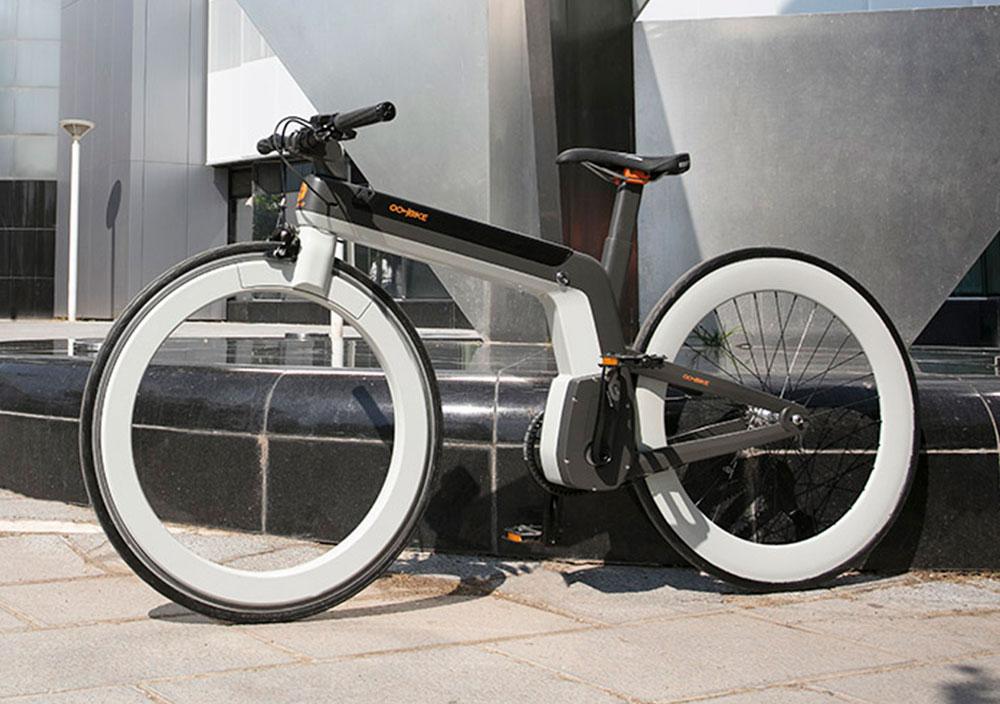 Oohbike: E-Bike mit speichenlosem Vorderrad geht in Serie