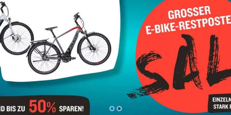 Schnäppchenalarm: Radwelt-Shop gibt bis zu 50 Prozent Rabatt auf E-Bike-Restposten - eBikeNews