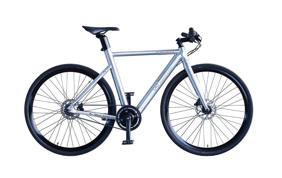 n+ Mercedes-Benz EQ Silver Arrows E-Bike - eBikeNews