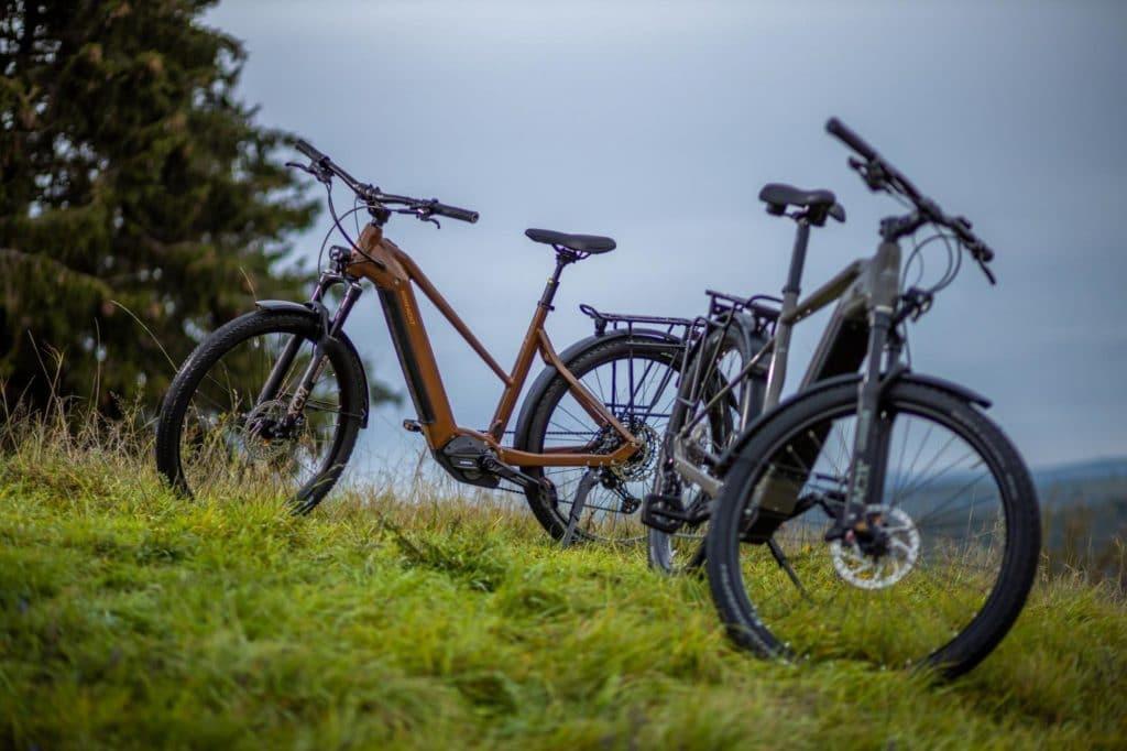 Trekking-E-Bikes Diamant und Trapezrahmen - eBikeNews