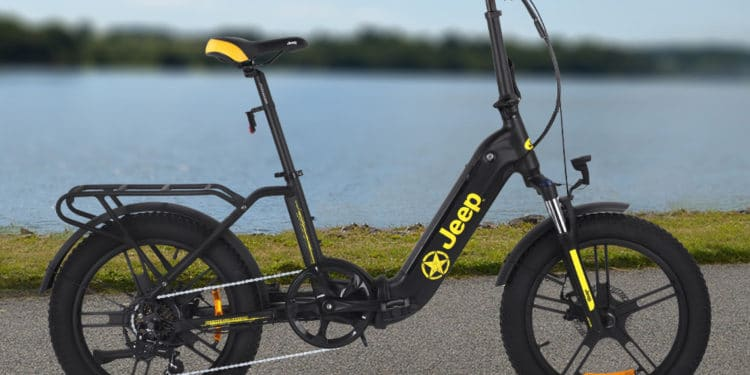 Fold E-Bike FR 7000: Neues E-Klapprad von Jeep - eBikeNews