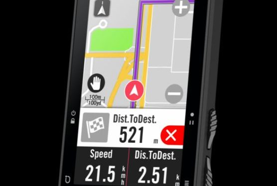 Bryton Rider 750 Navigation