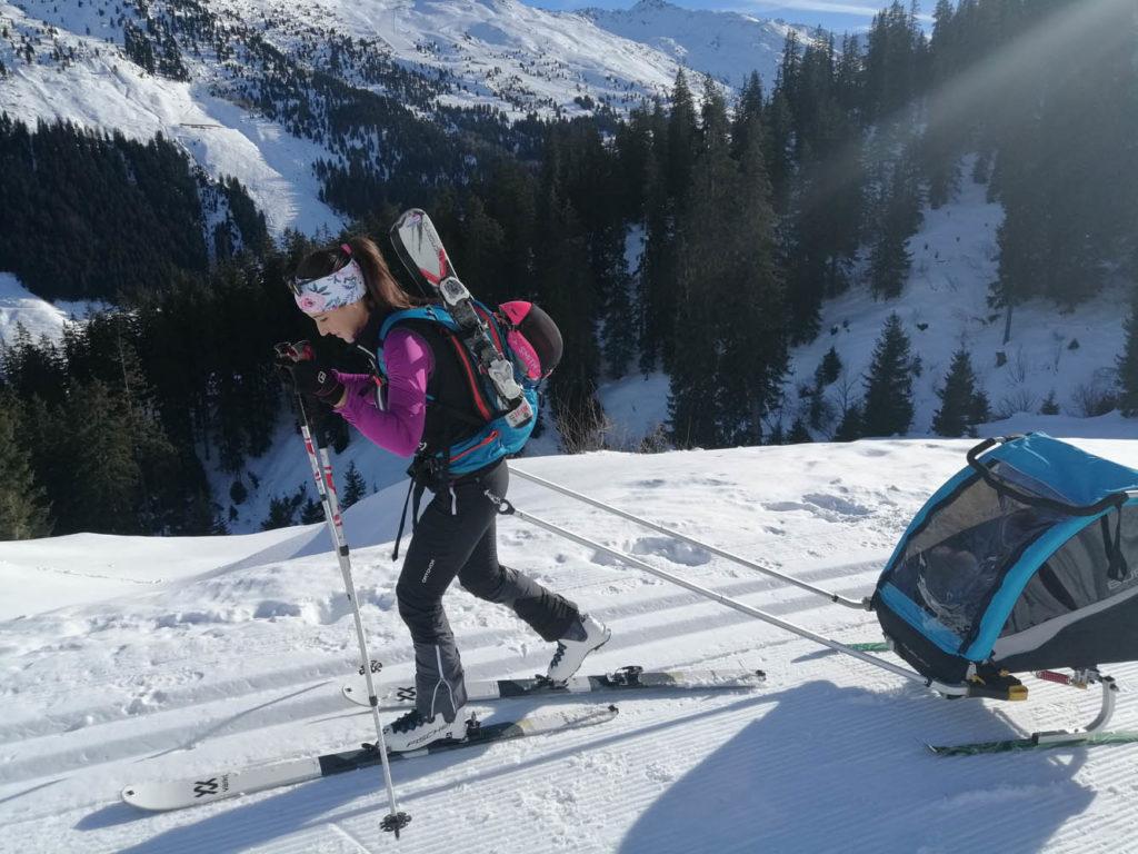 Ski-Anhänger Burley - eBikeNews