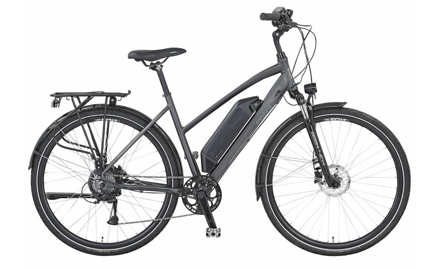 Aldi E-Bike von Prophete mit Trapezrahmen - eBikeNews
