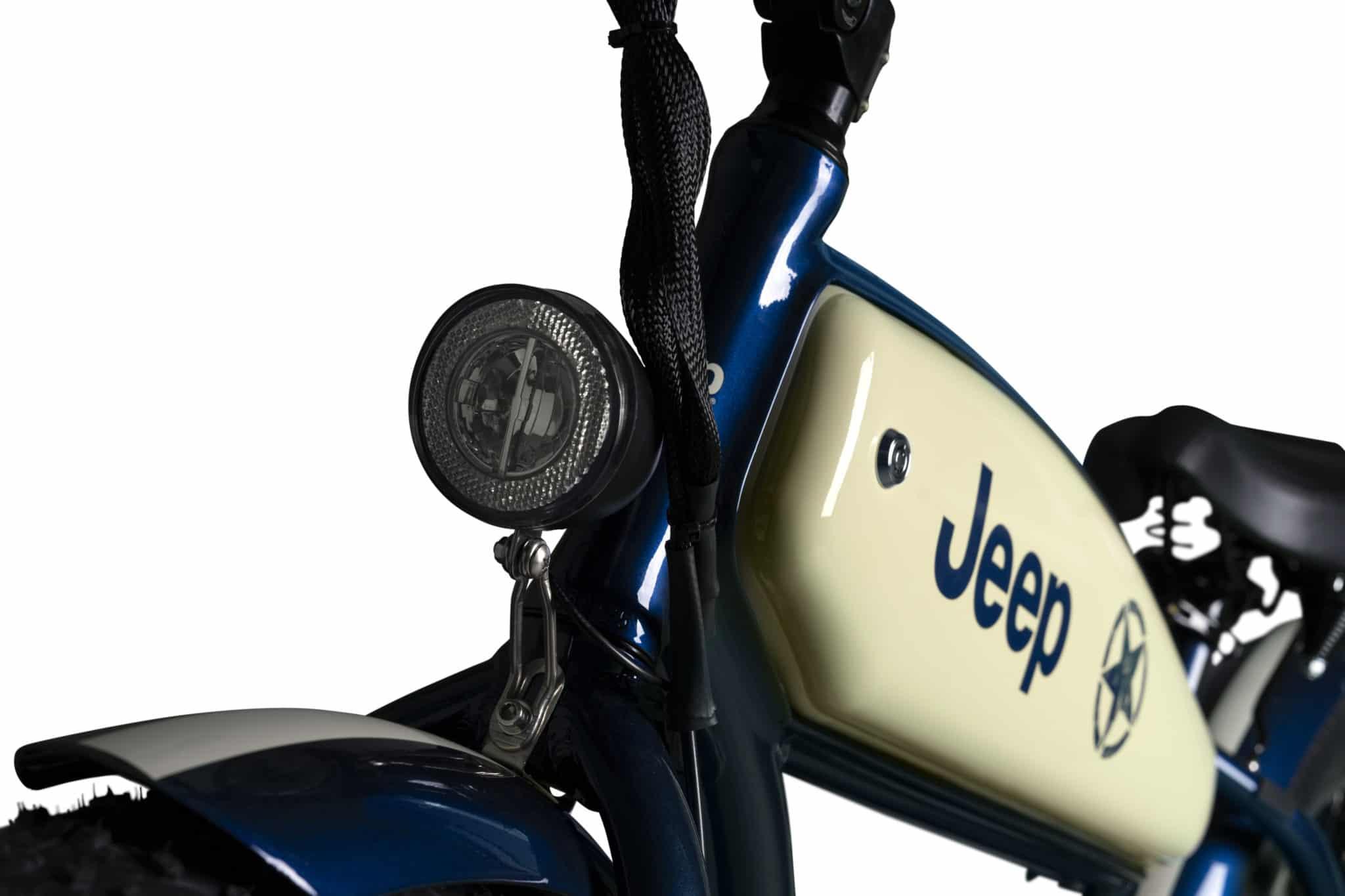Beleuchtung am Jeep Cruiser E-Bike