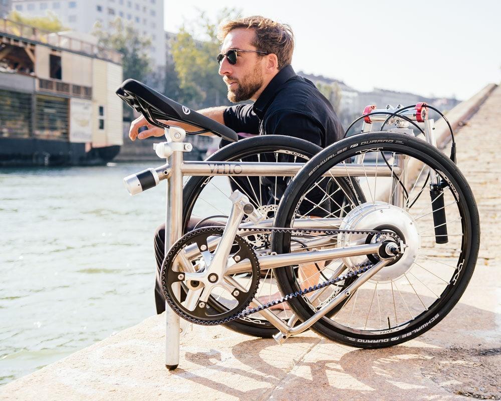 VELLO: Leichtes Falt-E-Bike bekommt neue selbstladende Motorengeneration - eBikeNews