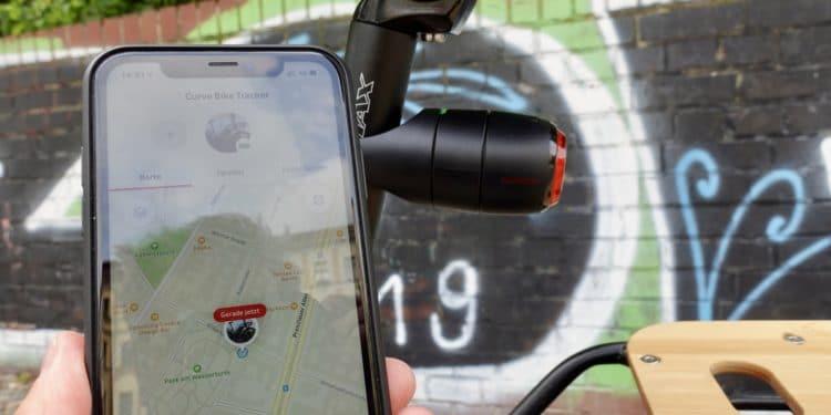 Vodafone Curve Tracker mit Smartphone App
