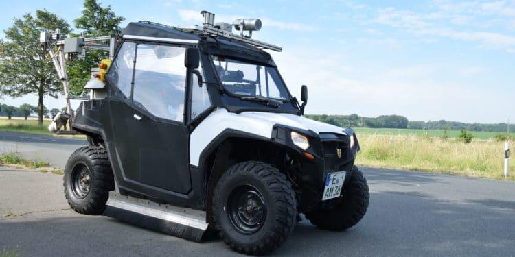 Laser Buggy für bessere Radwege - eBikeNews