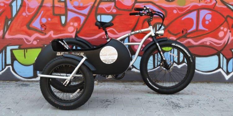 Kultpotential: Bad Bike stellt E-Bike mit Seitenwagen vor - eBikeNews